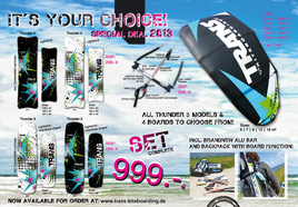 TRANS Kiteboarding 2013 - Overview