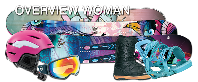Overview Trans Snowboards Woman/Girl
