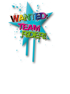 Wanted: Team Rider